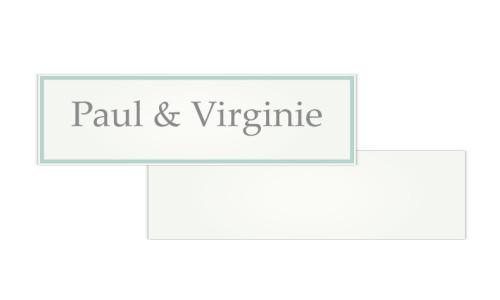 Papeterie de Mariage Old fashion - Etiquettes