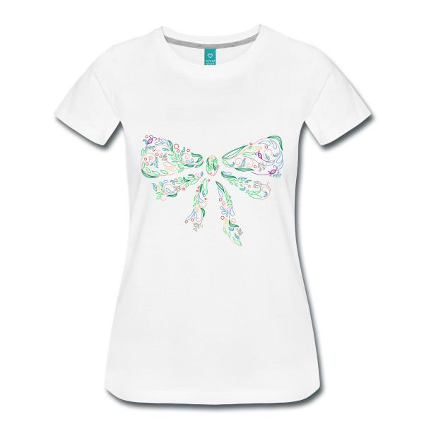 T-shirt Noeud Femme